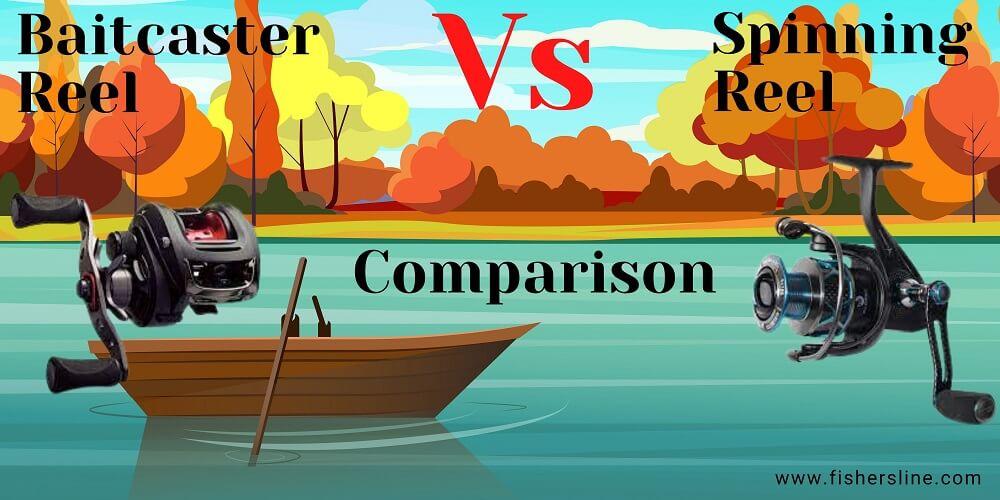 Baitcaster-Vs-Spinning-Reel-Comparison