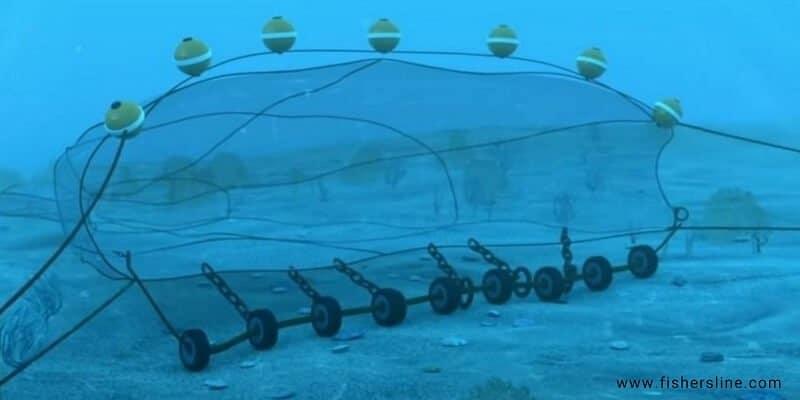 Bottom Trawling fishing Net