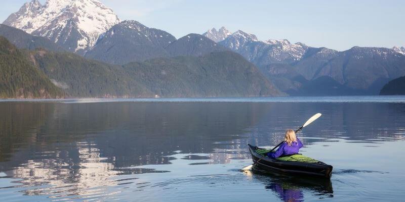 low impact kayaking